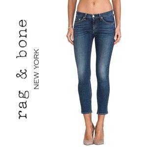 Rag & Bone Zipper Skinny Jeans   10218
